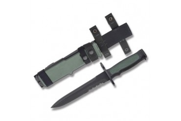Camillus Military Bayonet/Black FRN Handle