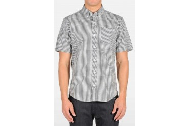 Mens Volcom Shirts - Volcom Weirdoh Mini Check Woven Shirt