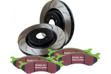 1998-2004 Toyota Tacoma Brake Disc and Pad Kit EBC Toyota Brake Disc and Pad Kit S3KF1228 98 99 00 01 02 03 04