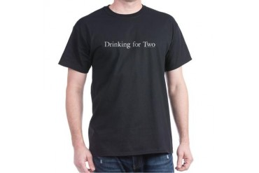 Drinking for Two - Dark T-Shirt