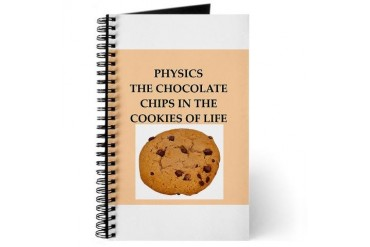 physics Funny Journal by CafePress