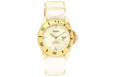 White/Gold Voyager Collection 40mm Watch