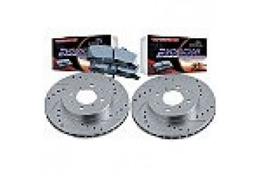 2010 Toyota Tundra Brake Disc and Pad Kit Powerstop Toyota Brake Disc and Pad Kit K4681
