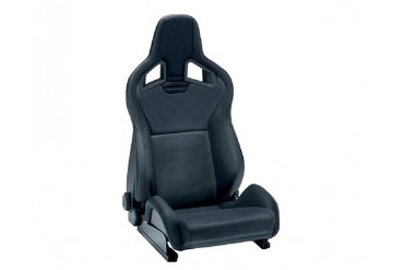 Recaro Sportster CS Right Seat Black LeatherBlack Leather Black Logo