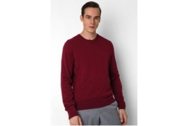 Noir Sur Blanc Mens Oneck Long Sleeve