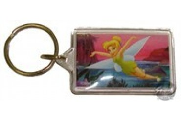 Disney Tinkerbell In Flight Keychain
