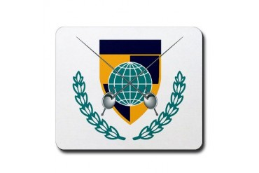 Fencing Insignia Sports Mousepad by CafePress