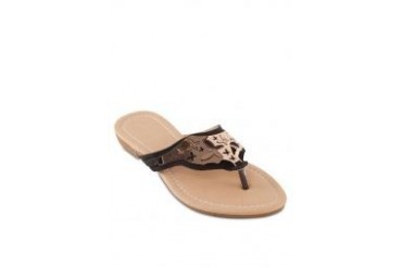 Noveni Sandals with Butterfly Hardware