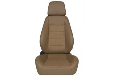 Corbeau Sport Seat in Tan Vinyl/ Tan Cloth 90066PR Seat