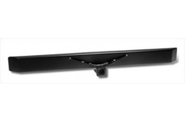 Warrior Standard Rear Bumper with 2 Inch Receiver in Black Powder Coat 520 Rear Bumpers