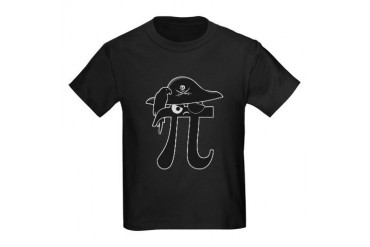 Pi-Rate Kids Dark T-Shirt