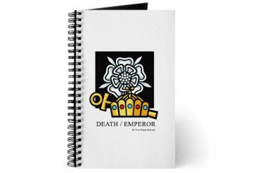 Death / Emperor Cupsthermosreviewcomplete Journal by CafePress