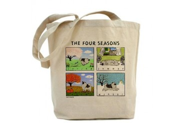 The Four Seasons Funny Tote Bag by CafePress
