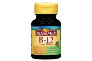 Nature Made B-12 500mcg Tablets