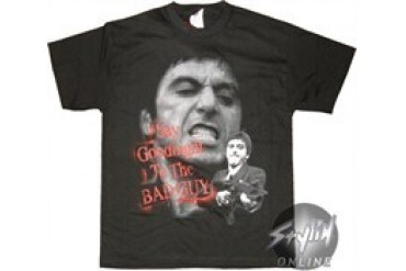 Scarface Say Goodnight To The Bad Guy T Shirt Price Comparison