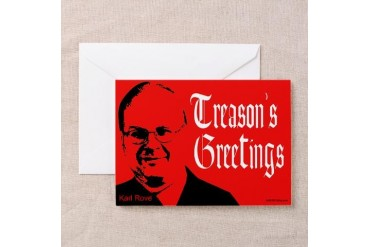 Treason Greet red Greeting Cards (Pk of 10)