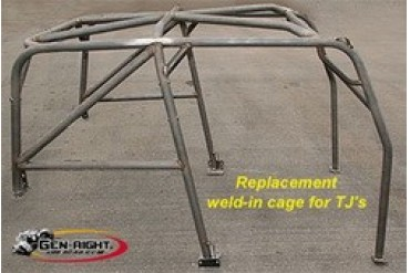 GenRight Complete Roll Cage  GRC-2001 Roll Cages & Roll Bars