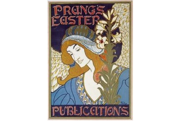 Prangs Easter Publications Poster Print by Louis Rhead (18 x 24)