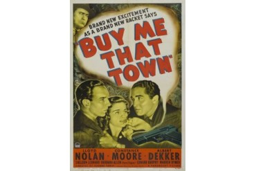 Buy Me That Town Movie Poster (11 x 17)