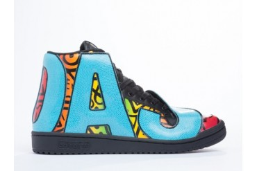 Adidas Originals X Jeremy Scott JS Letters in Multicolor size 9.0