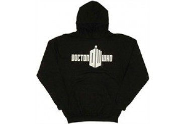 Doctor Who Full Eleventh Logo Pullover Hooded Sweatshirt
