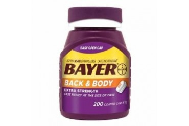 Bayer Back amp Body Extra Strength Coated Caplets 200 Count