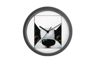 Up Close Boston Baseball Wall Clock by CafePress