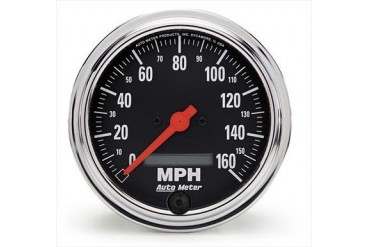 Auto Meter Traditional Chrome Series Speedometer 2489 Gauges