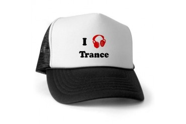 Trance music Music Trucker Hat by CafePress