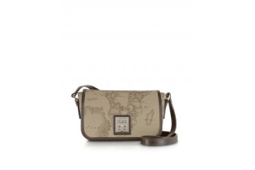 Geo Classic Print Small 'New Classic' Shoulder Bag with Swivel Clasp