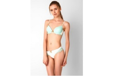 Young Hearts By The Sea Bra Set