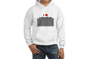 I Canadian Boys Love Hooded Sweatshirt by CafePress