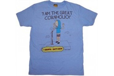 Beavis and Butthead I Am the Great Cornholio T-Shirt Sheer