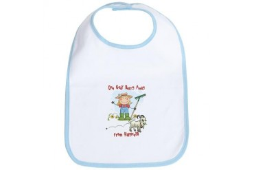 Funny Goat Berries Pets Bib by CafePress