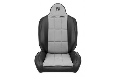 Corbeau Baja RS Seat in Black Vinyl/ Grey Cloth 66419PS Seat