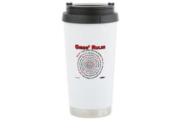 NCIS GIBBS' RULES - Ceramic Travel Mug