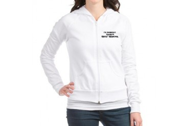 Favorite Great Grandma Family Jr. Hoodie by CafePress
