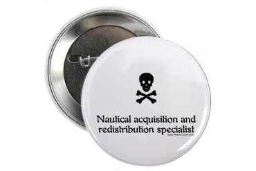 Nautical Acquisition Funny 2.25 Button by CafePress