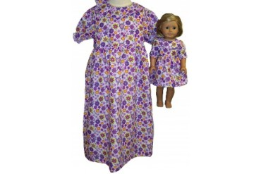 matching girl and doll clothes - matching-girl-doll-nightgown