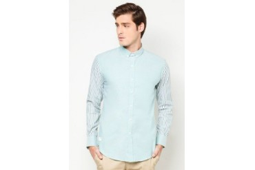 Private Stitch Long Sleeve Mix and Match Shirt