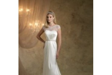"Kathy Ireland ""In Stock"" Wedding Dress - Style Silver Screen KI1307"