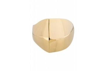 Maiyet Gold plated Triangular Sculpted Cuff