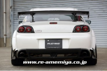 RE Amemiya LED Tail Light Finisher GF Mazda RX-8 03-11