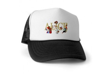 Alice and Her Friends in Wonderland Baby Trucker Hat by CafePress