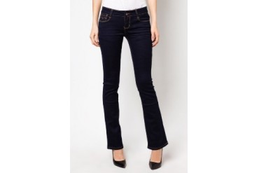 RED Bell Bottom Jeans