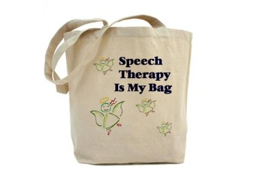 Speech Therapy Autism Tote Bag by CafePress