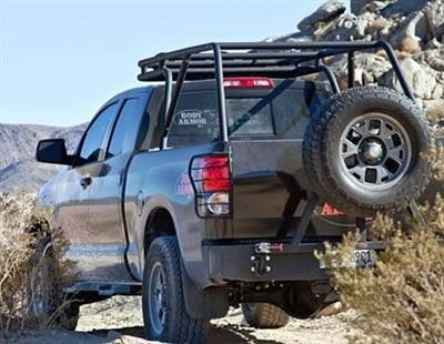 Body Armor 4x4 Sport Rack Mounting System For Toyota