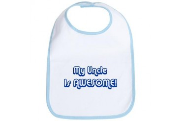 My Uncle is Awesome Family Bib by CafePress