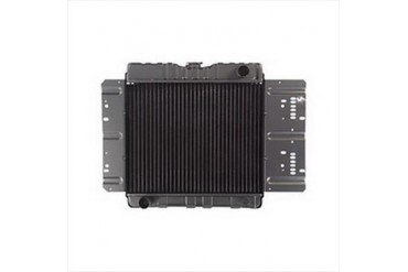 Omix-Ada Replacement 2 Core Radiator for 2.5L 4 Cylinder Engine with Automatic Transmission 17101.05 Radiator
