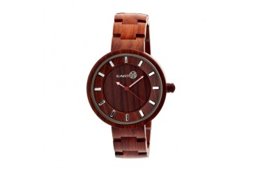 Earth Wood Branch Bracelet Watch-Red